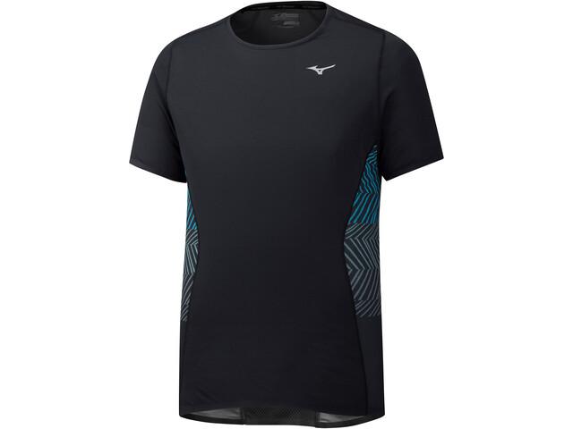 Mizuno Aero Koszulka do biegania z krótkim rękawem Mężczyźni czarny